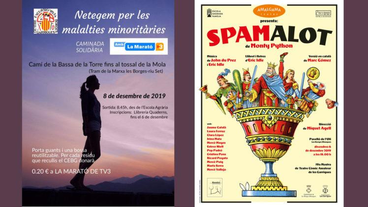Les Borges inicia els actes de Nadal amb la solidaritat, l'entreteniment i la cultura com a protagonistes