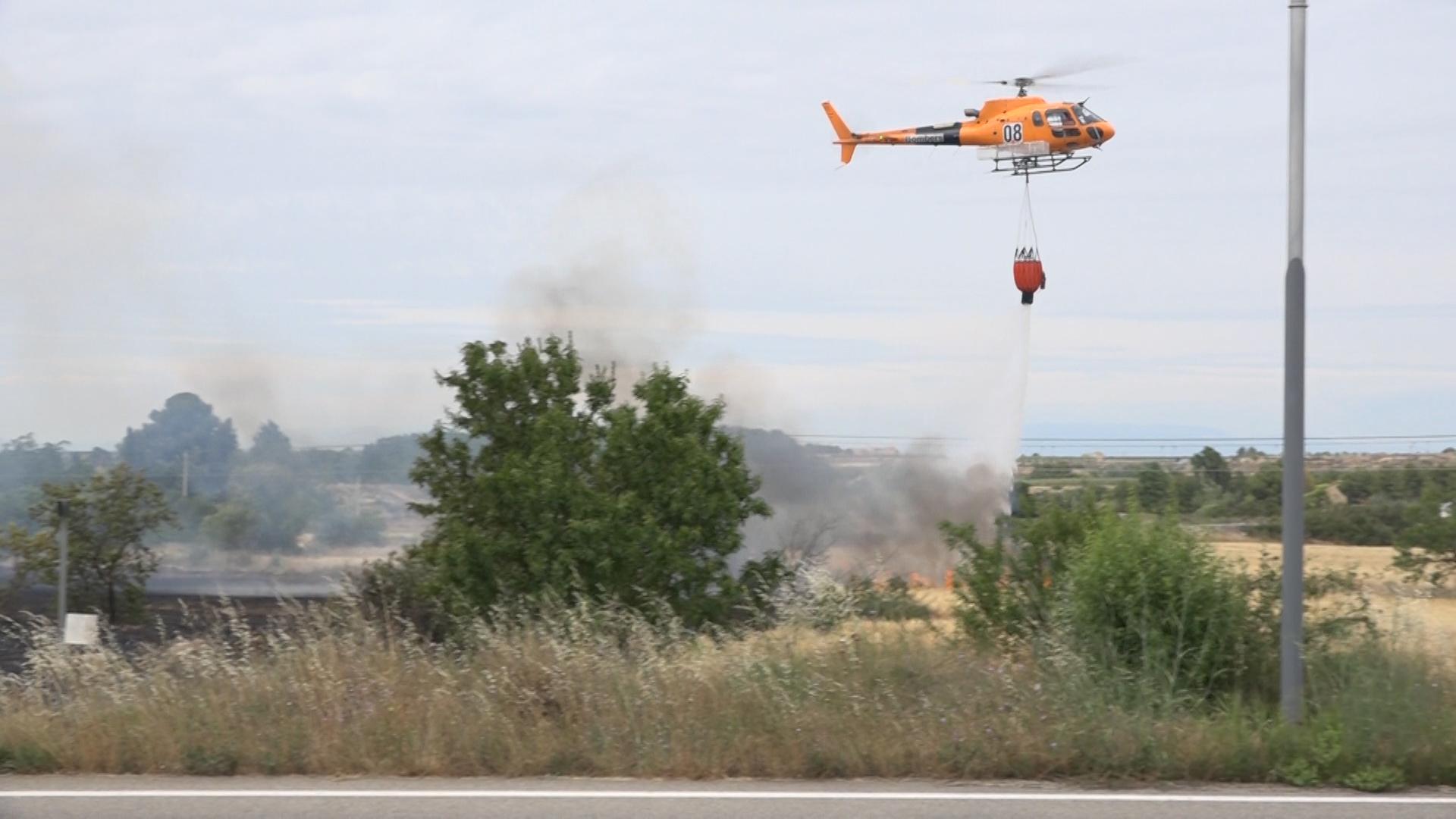 El Departament d'Agricultura paga 492.000 euros en ajuts als afectats per l'incendi forestal