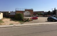 El solar on s'ubicarà el futur Teatre municipal polivalent de les Borges2