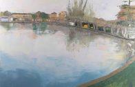 L'Estany de les Borges Blanques vist per l'artista Tines