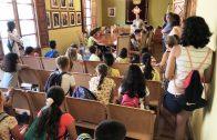 Visita dels alumnes de 3r de Primària de l'Escola Joan XXIII a l'Ajuntament de les Borges