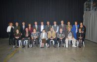 Les autoritats i els octogenaris 2017 que van assistir a la festa de les Borges