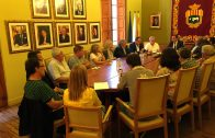 L'exconseller Rull reunit amb els alcaldes de la plataforma Prou Morts a l'N-240 el 2017