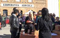 Les Borges inicia els actes de Nadal amb el tradicional Caga Tió gegant