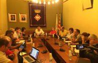 El Ple de l'Ajuntament de les Borges d'aquest setembre.