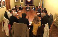 La reunió de la Plataforma Prou Morts a l'N-240 amb el Sercretari d'Infraestructures i Mobilitat, Isidre Gavín2