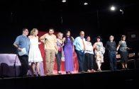 El Grup de Teatre Nissaga de les Borges actuant al Pavelló de l'Oli