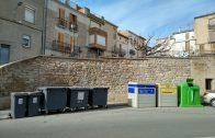 Illa de contenidors de les Borges.