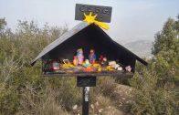 Pessebre fet amb figures de plastilina del Centre Excursionista Borges – Garrigues