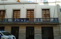 Façana de l'Ajuntament de les Borges