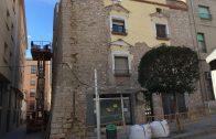 Imatge d'arxiu d'una façana arranjada al Centre Històric de les Borges Blanques