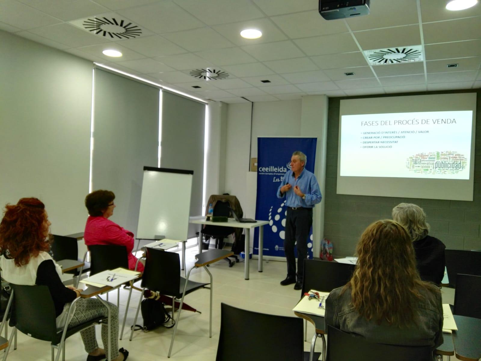 Noves formacions al CEI Borges per autònoms i empreses