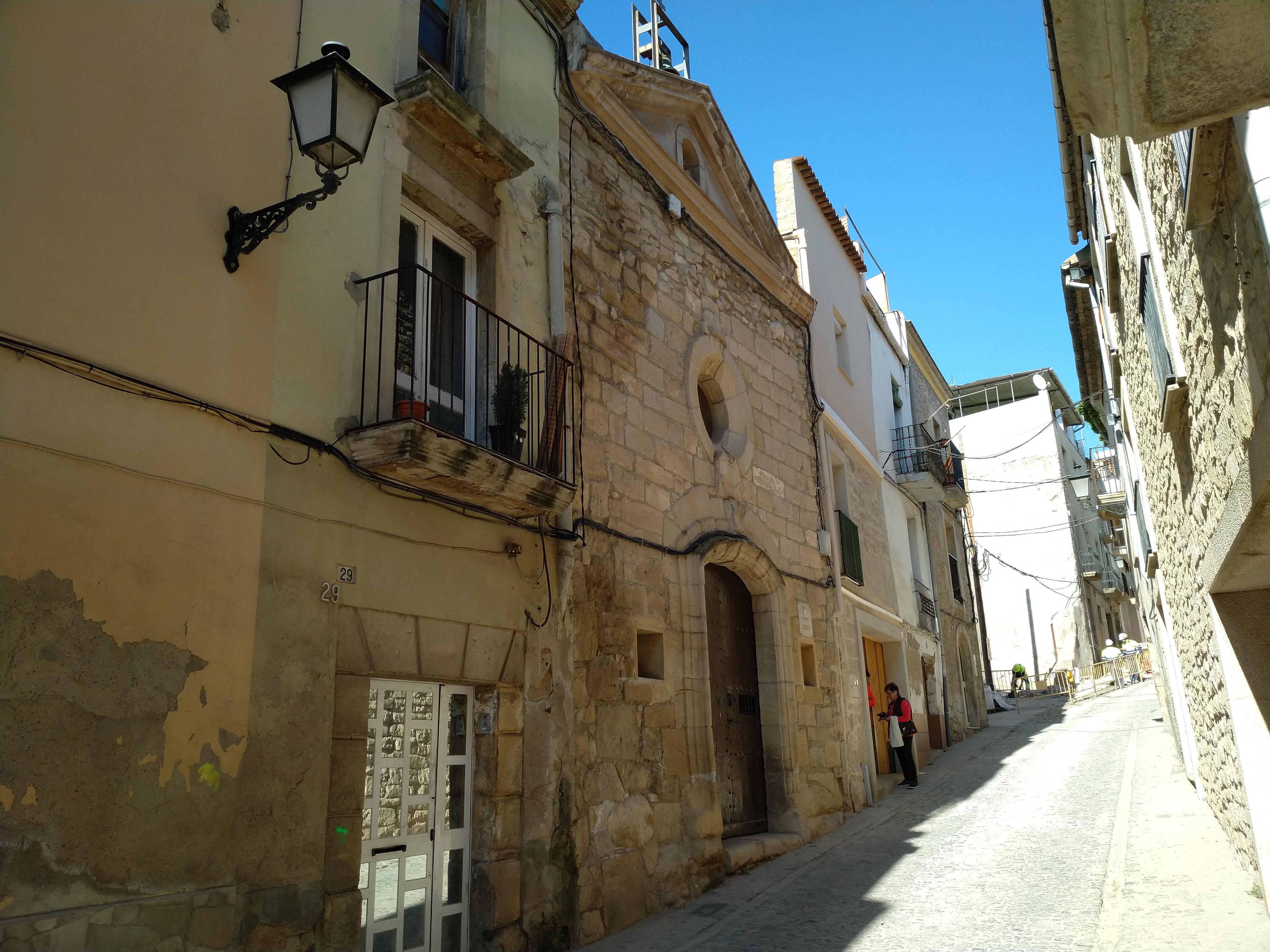 L'Ajuntament de les Borges reforma la coberta de l'església de la Capelleta