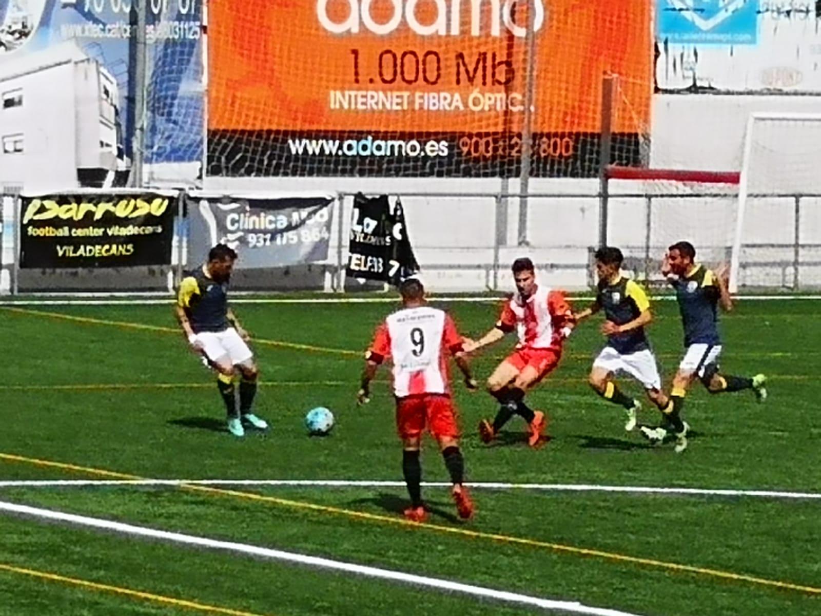 Crònica UD Viladecans (2) – FC Borges (2)