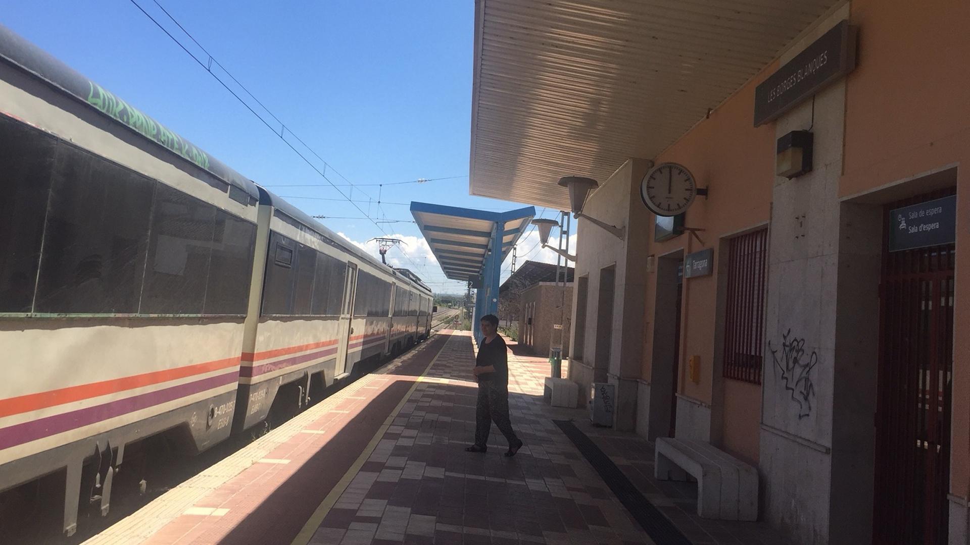 L'Ajuntament de les Borges aconsegueix que els combois de Renfe tornin a parar a l'andana principal de l'estació