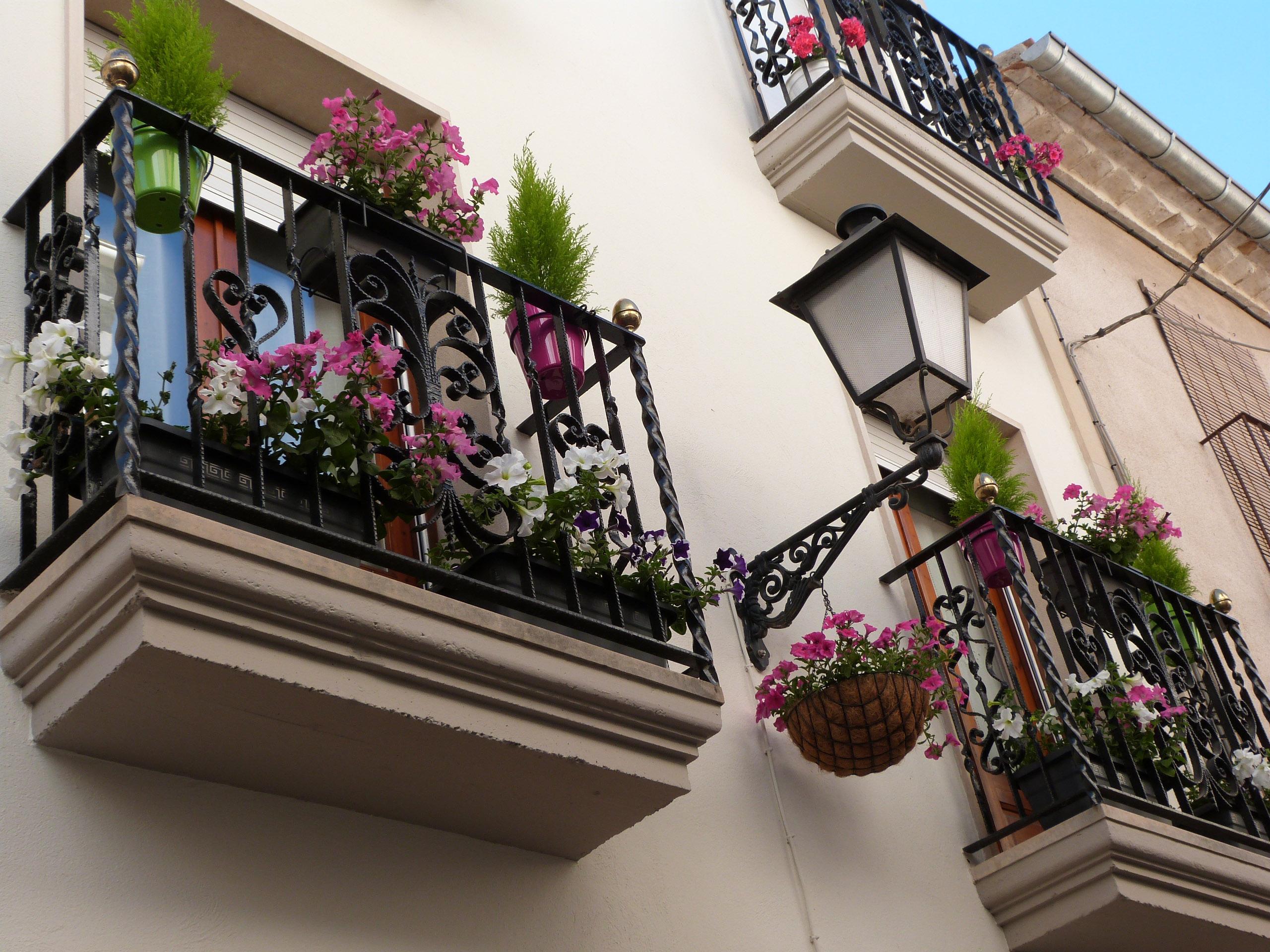 Les Borges convoca una nova edició del concurs per engalanar balcons amb plantes i flors naturals