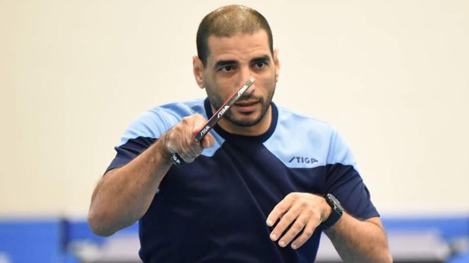 El Borges Grup Vall fitxa una llegenda del tennis taula, El Sayed Lashin