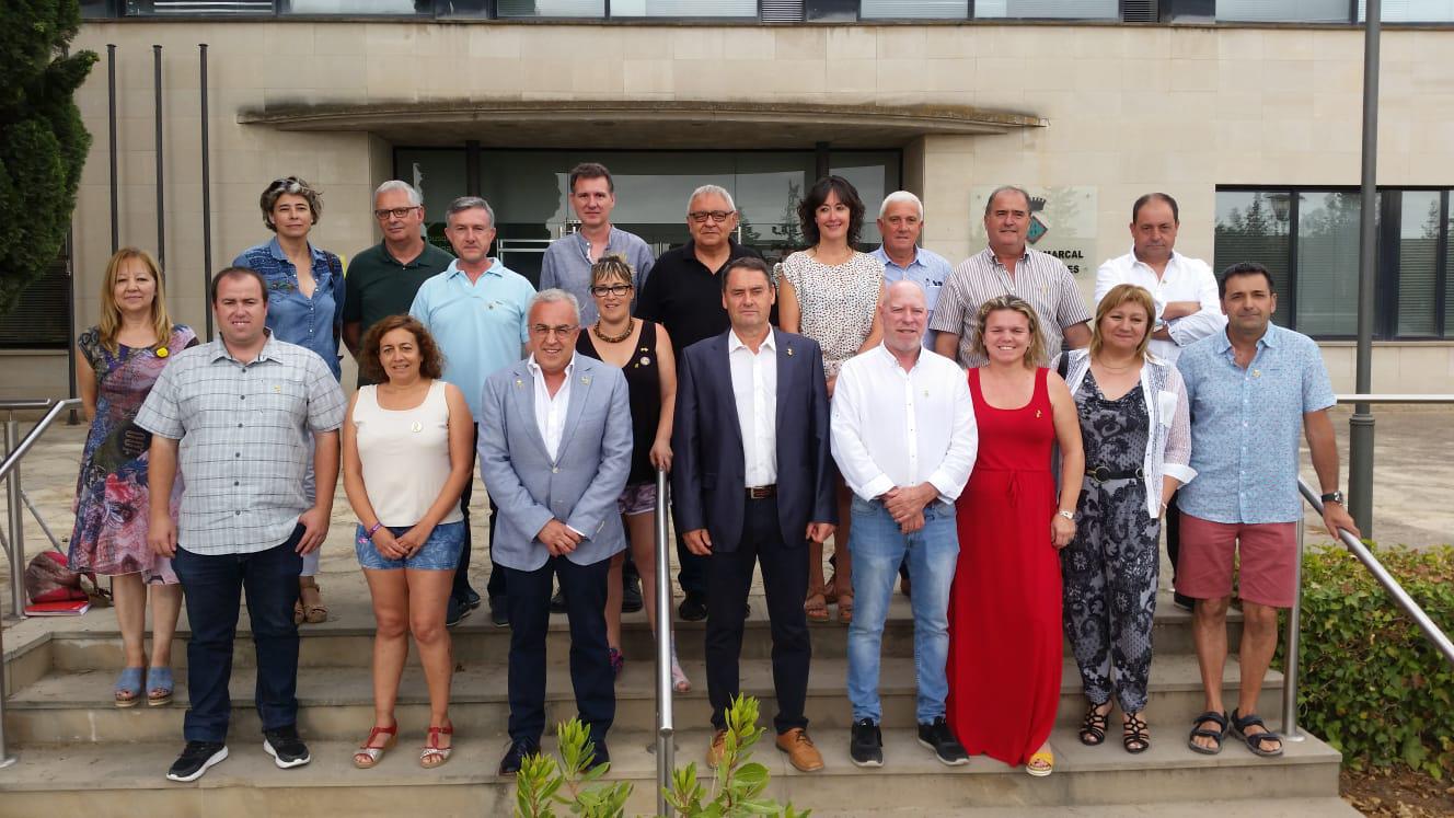 Jaume Setó, alcalde de la Floresta, és el nou president del Consell Comarcal de les Garrigues