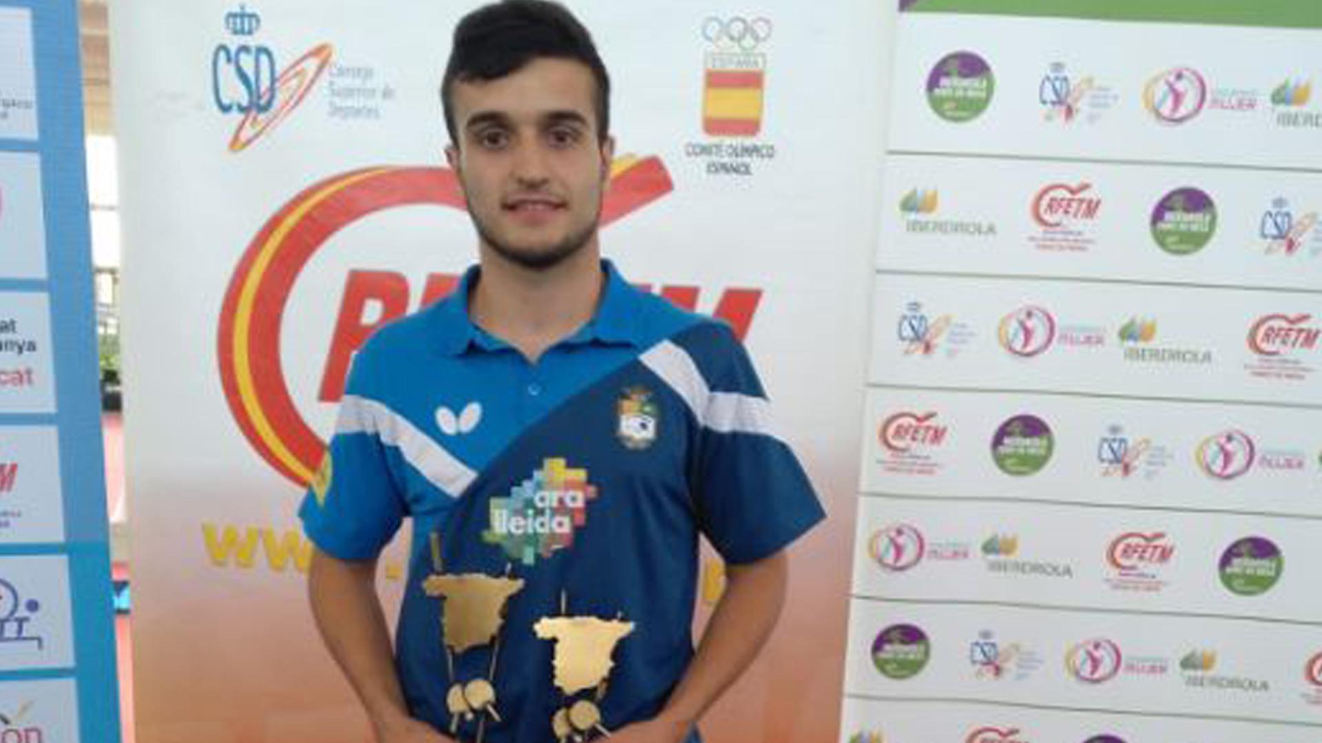 Joan Masip del CTT Borges aconsegueix dues medalles als Campionats d'Espanya