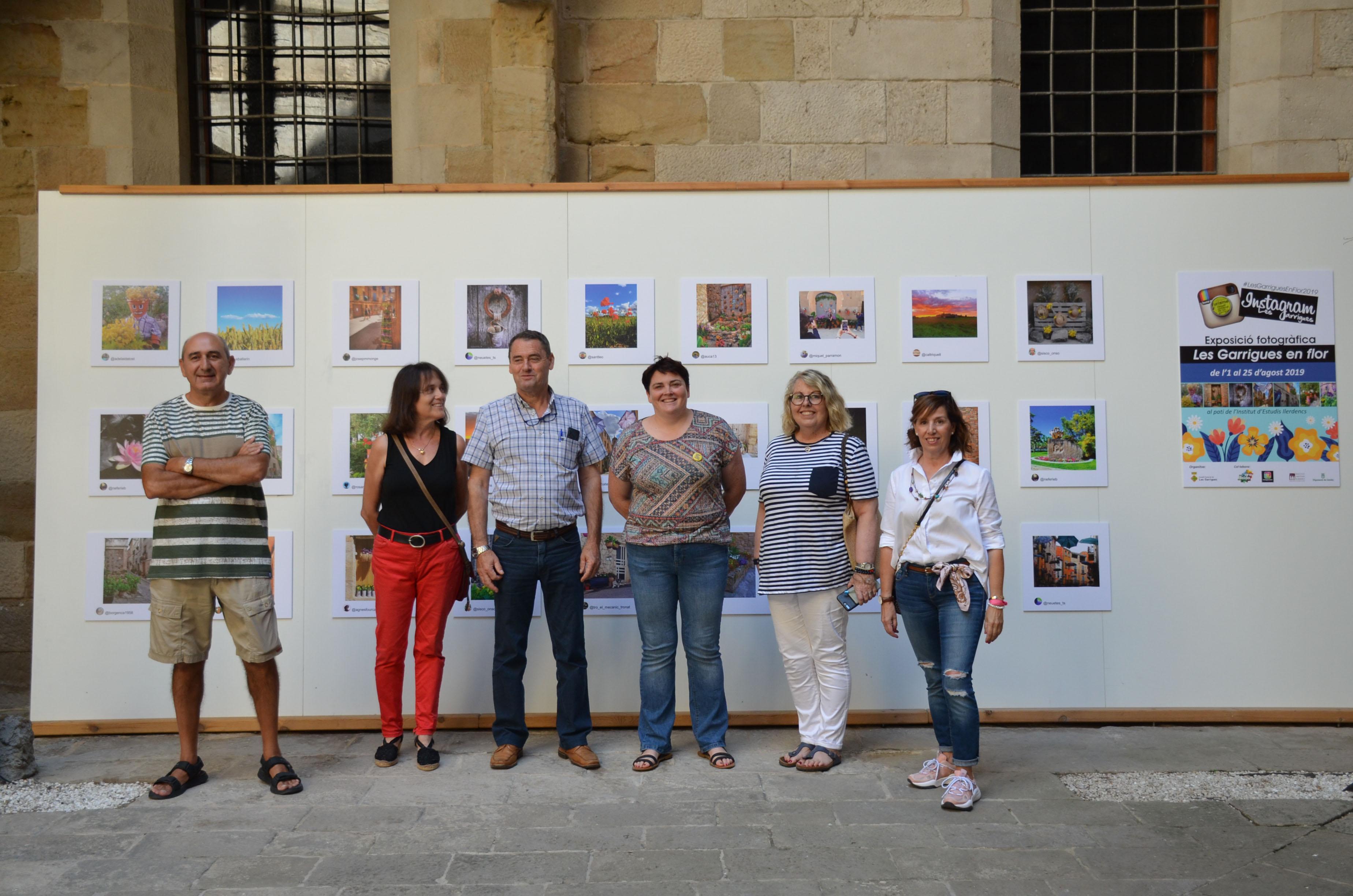 """Fins al 25 d'agost es pot visitar a l'IEI l'exposició de fotografies del concurs d'Instagram """"Les Garrigues en Flor"""""""