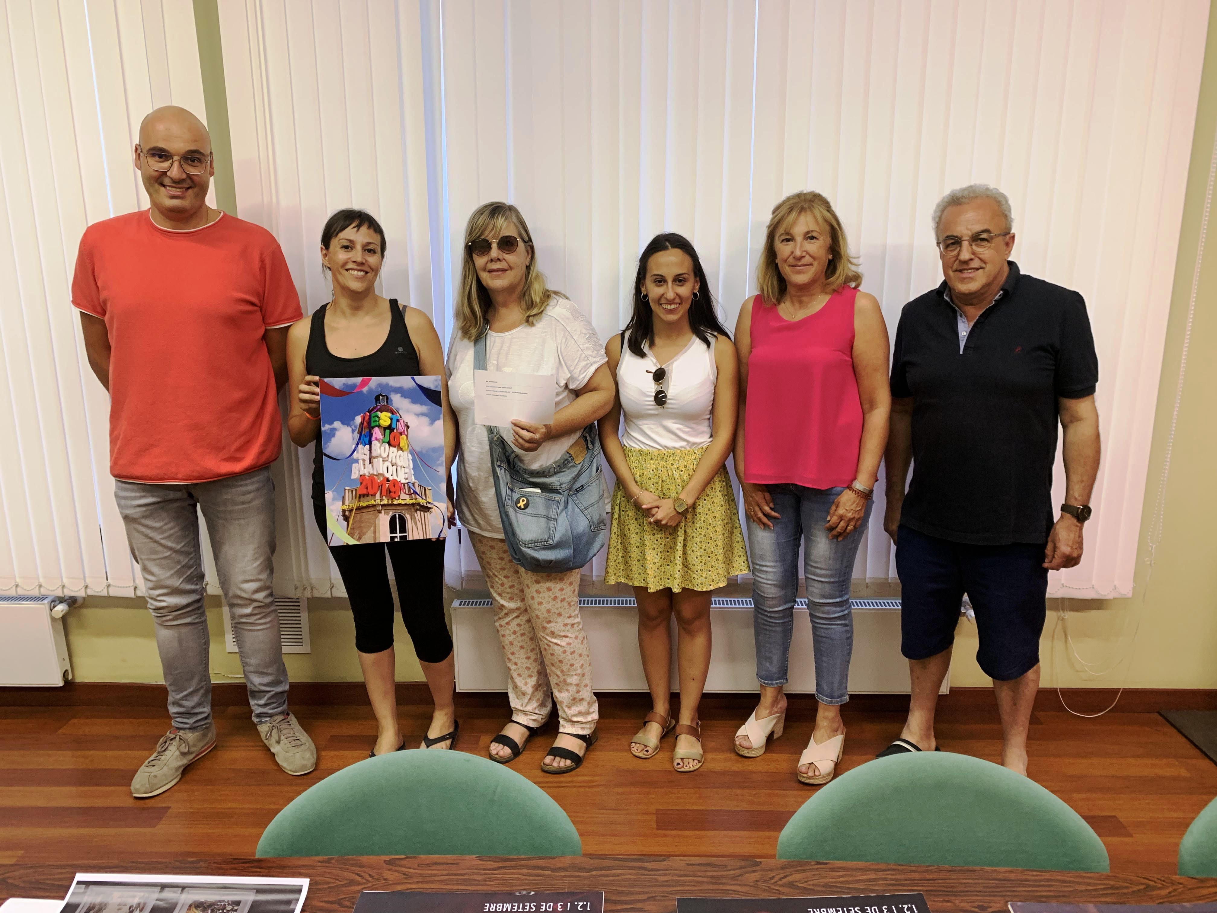 El borgenc Marc Jordà guanya el concurs de cartells de la Festa Major de les Borges Blanques 2019