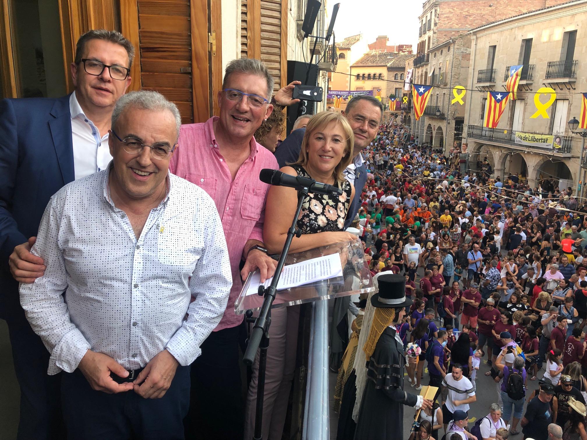 Més de 6.000 persones assisteixen a la 37a Trobada de Gegants, Grallers i Correfocs de les Borges