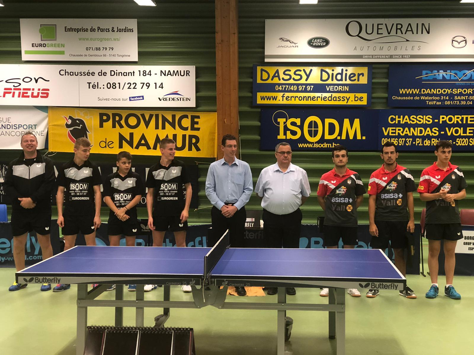 L'ASISA Borges Vall es classifica 1er de grup a l'Europe Cup