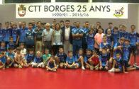 Cap de setmana amb bons resultats pel CTT Borges