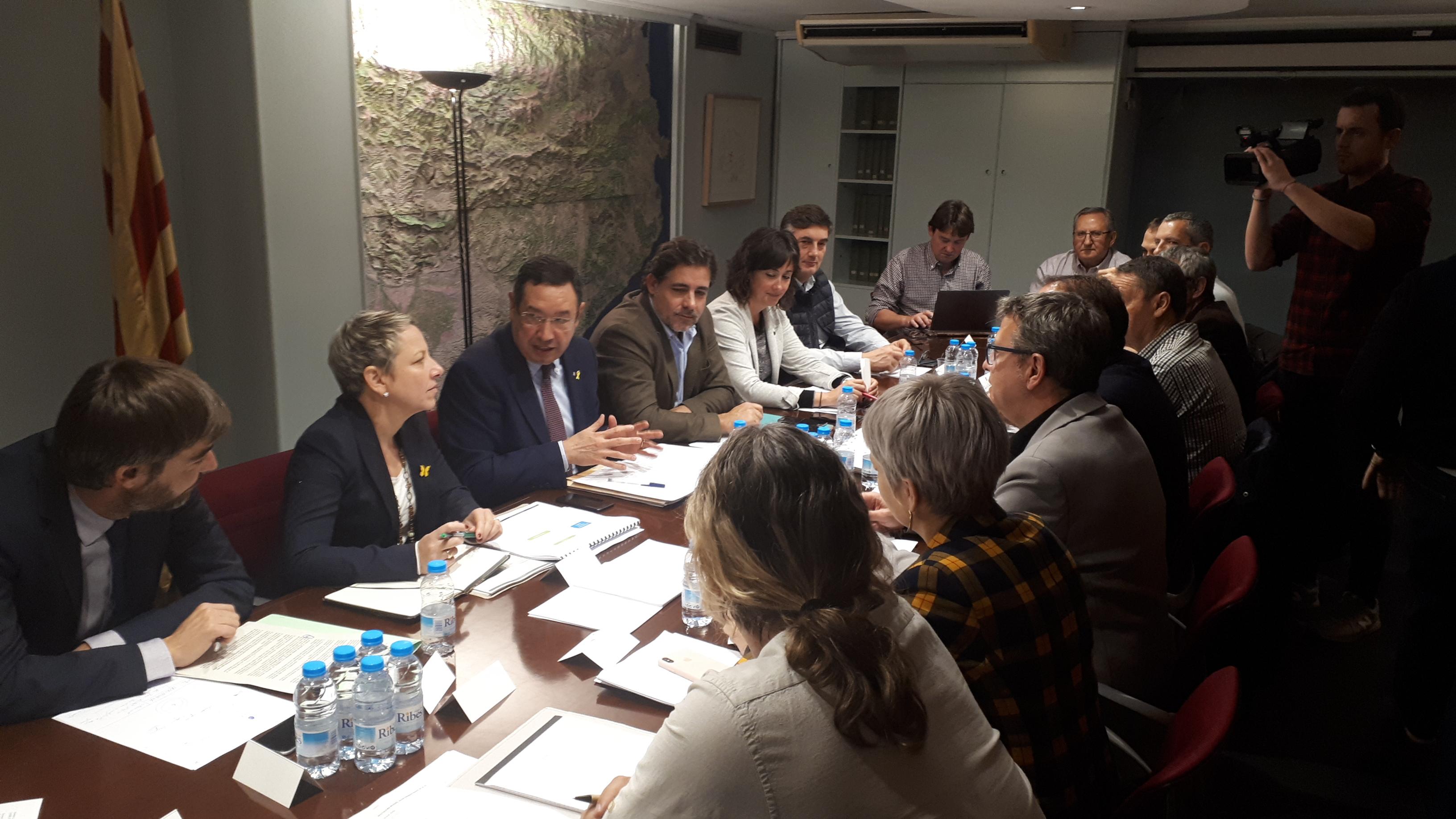 La Generalitat posa a l'abast dels afectats pel temporal eines de finançament per atendre les necessitats de les persones