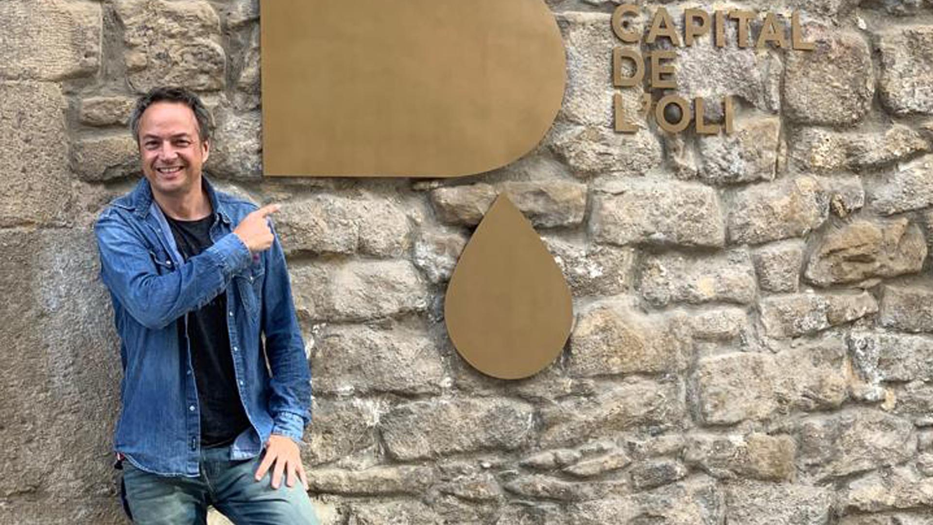 El mediàtic cuiner Sergio Torres visita la Ruta de l'Oli i l'Aigua