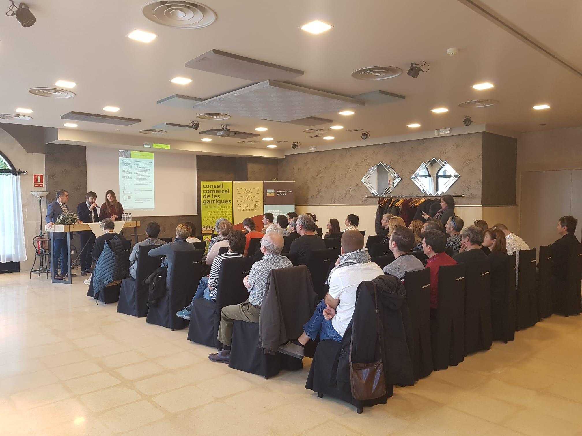 20 productors i 15 compradors, al Networking agroalimentari a les Garrigues