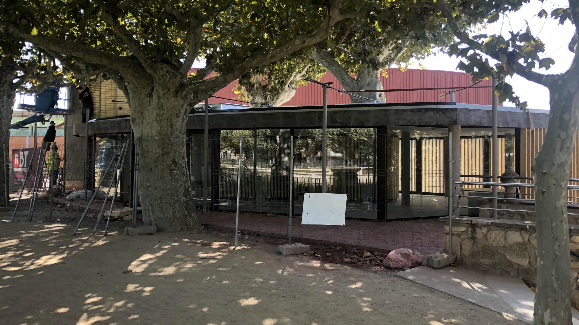 Les Borges torna a licitar l'explotació del bar 'Lo Kiosc', desprès de deixar deserta l'anterior