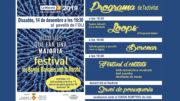 Cartell del Festival per la Marató de TV3 2019 a les Borges