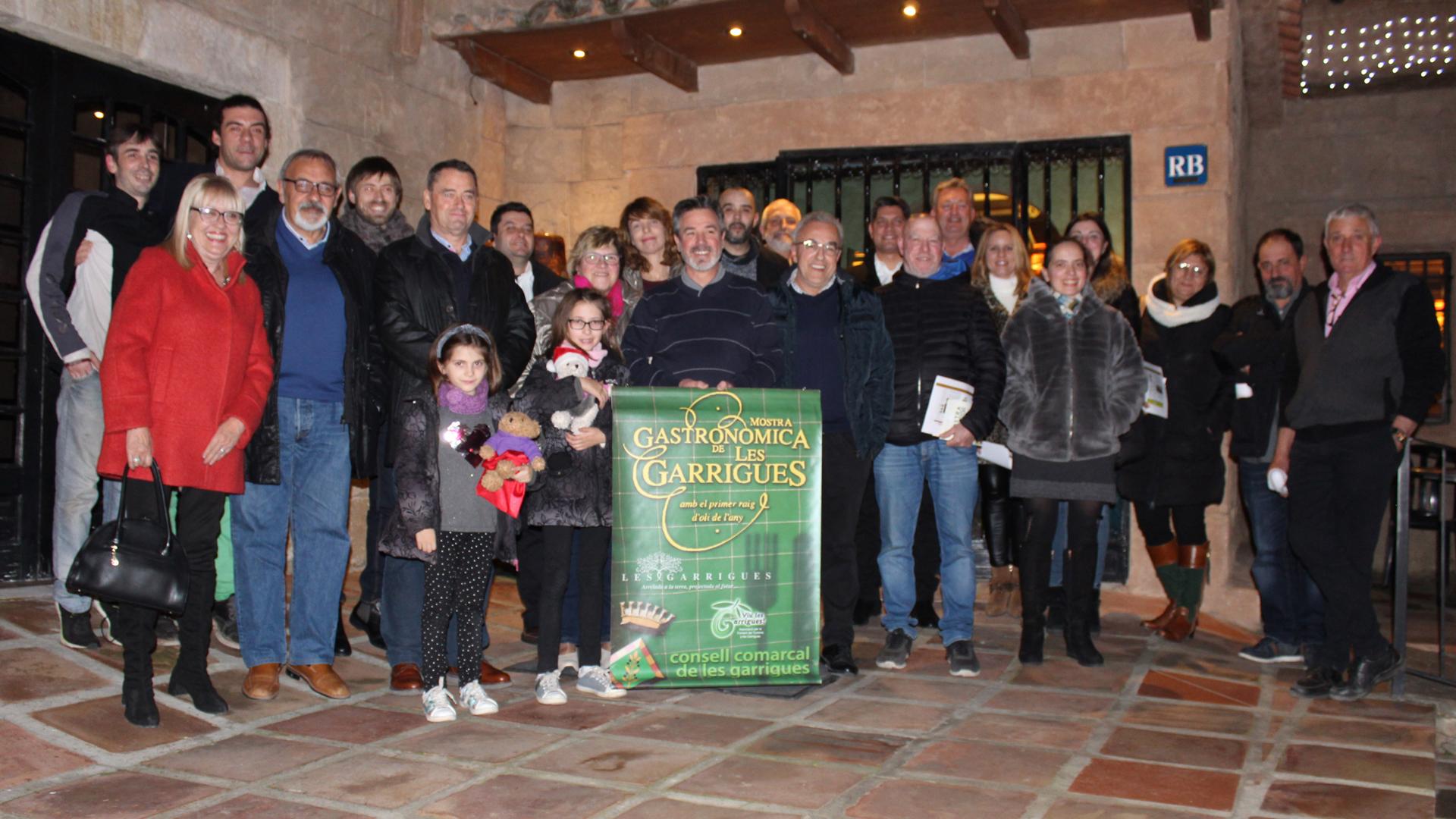 Clou la 25a Mostra Gastronòmica de les Garrigues amb més de 1.800 menús servits