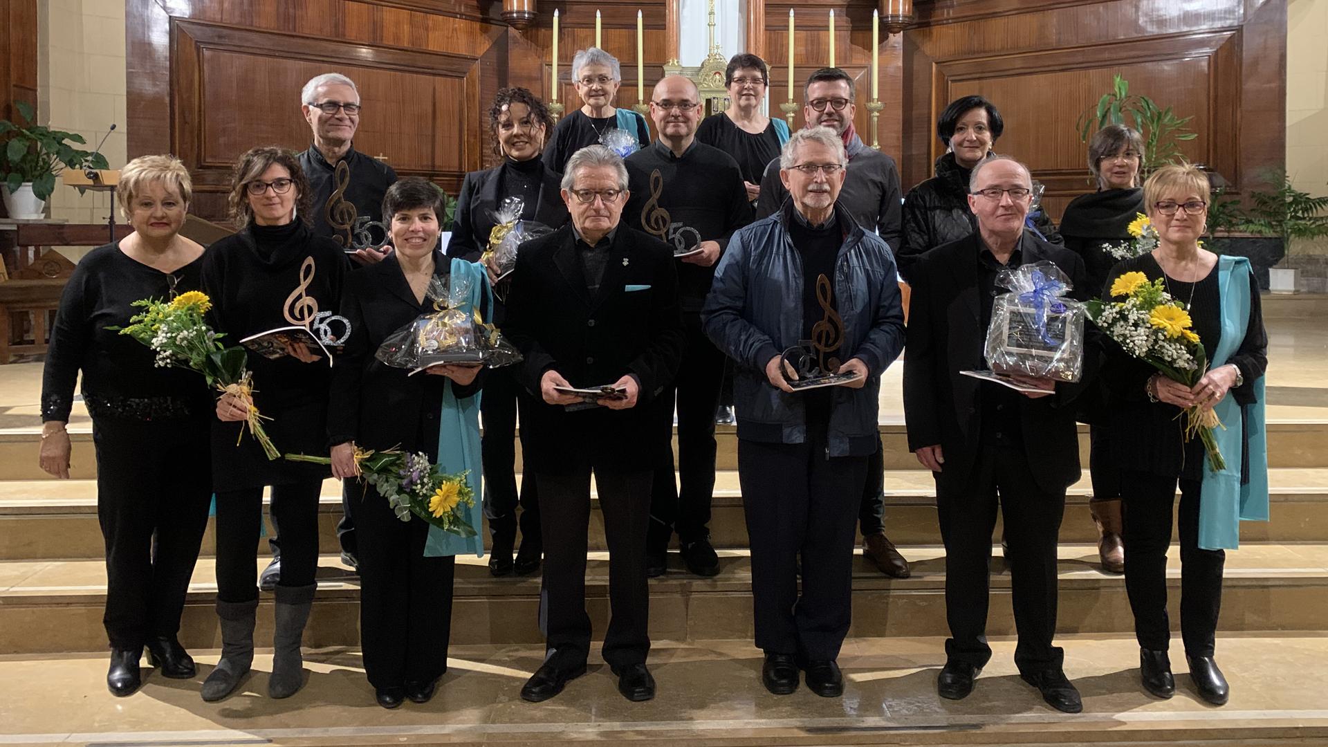 Concert de Nadal i 50è aniversari de l'Orfeó Terrall de les Borges