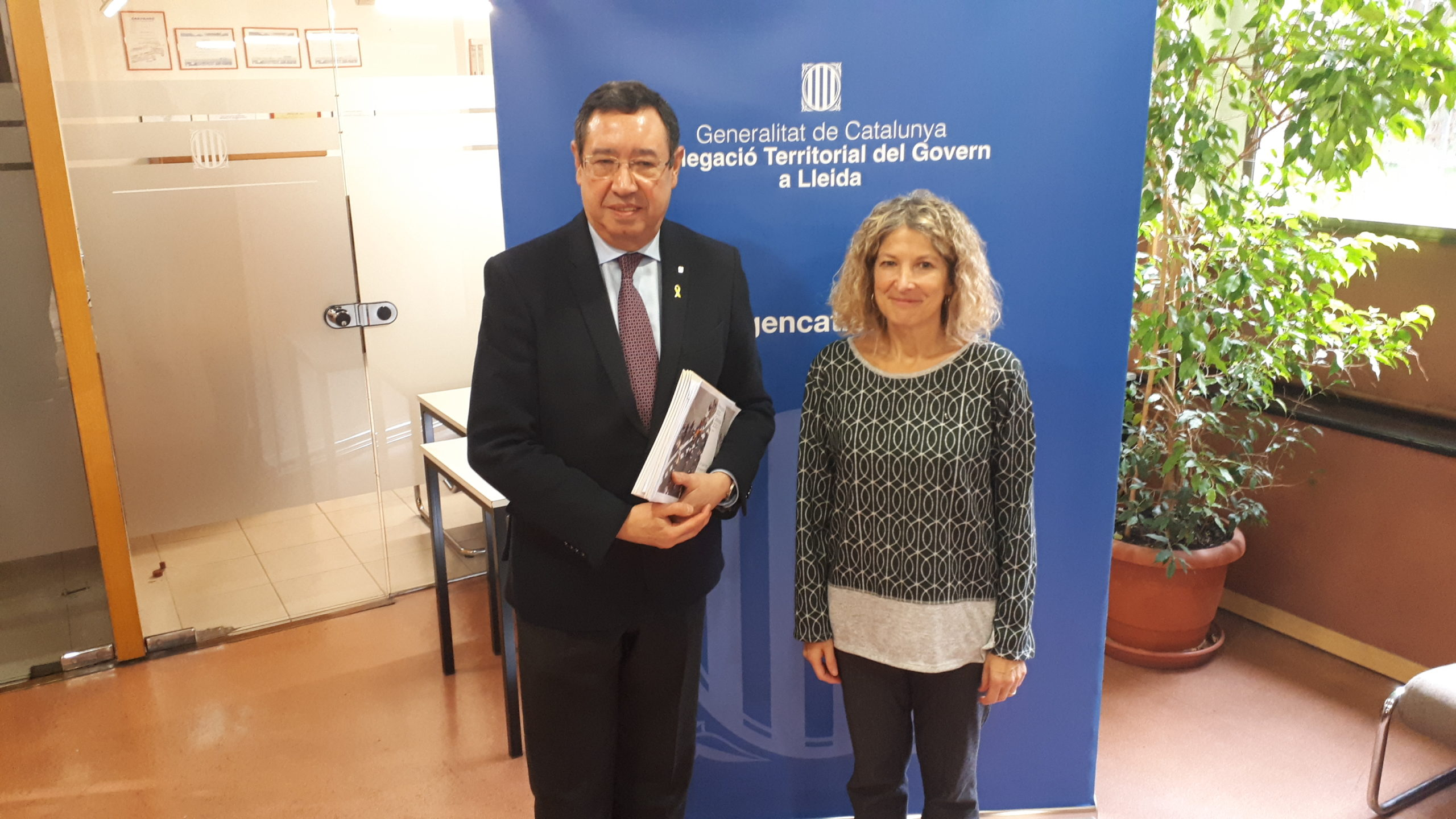 La inversió a Lleida prevista en els Pressupostos de la Generalitat per al 2020 creix un 55%