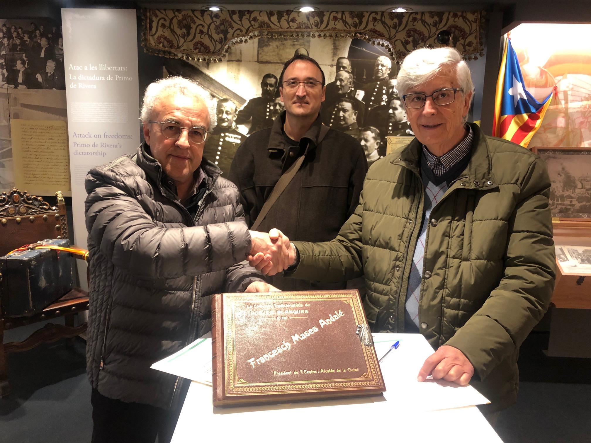 L'Espai Macià rep una donació de la família de l'alcalde Francesch Mases