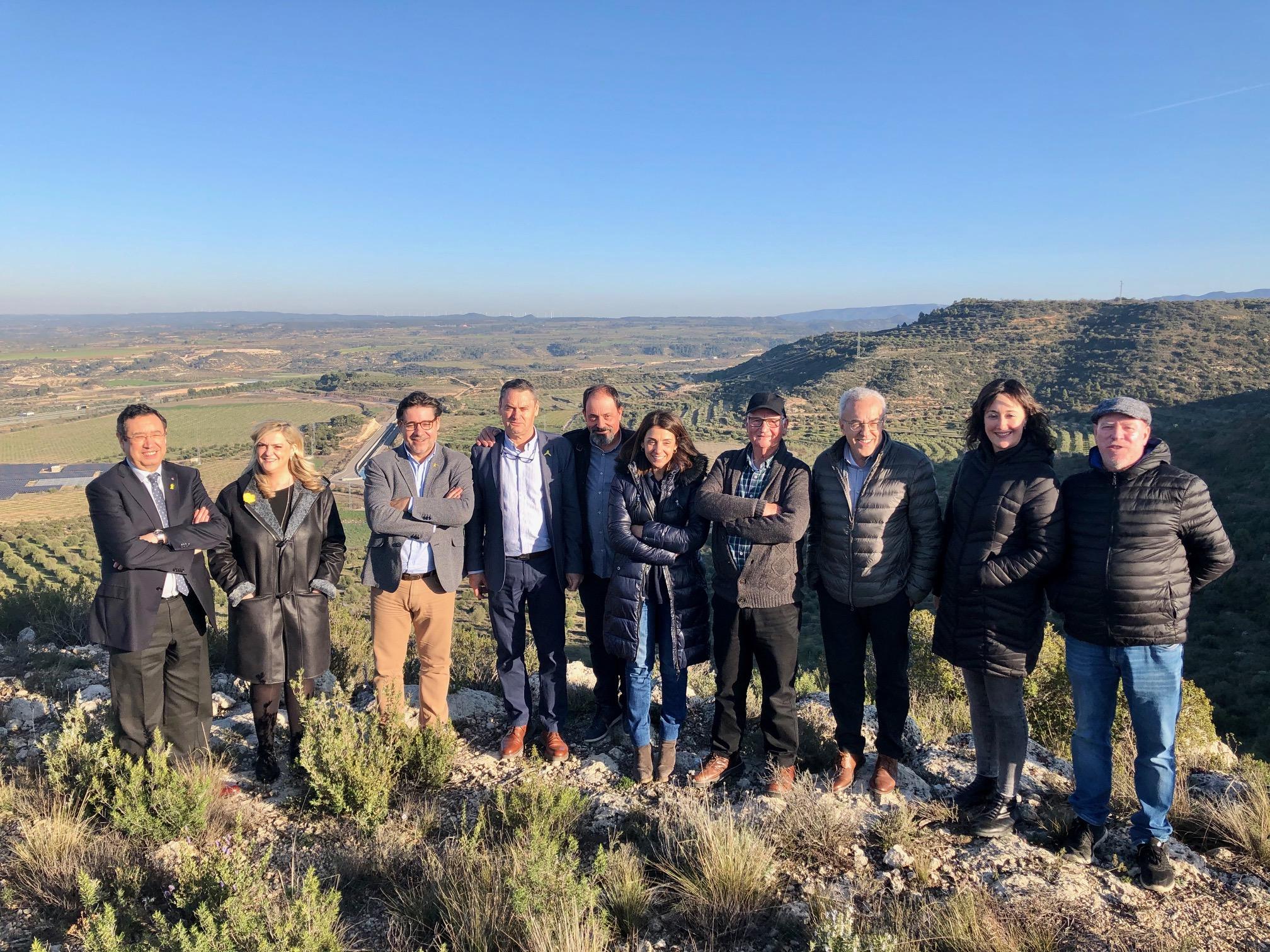 La consellera Budó visita el reg del Segarra-Garrigues a les Borges