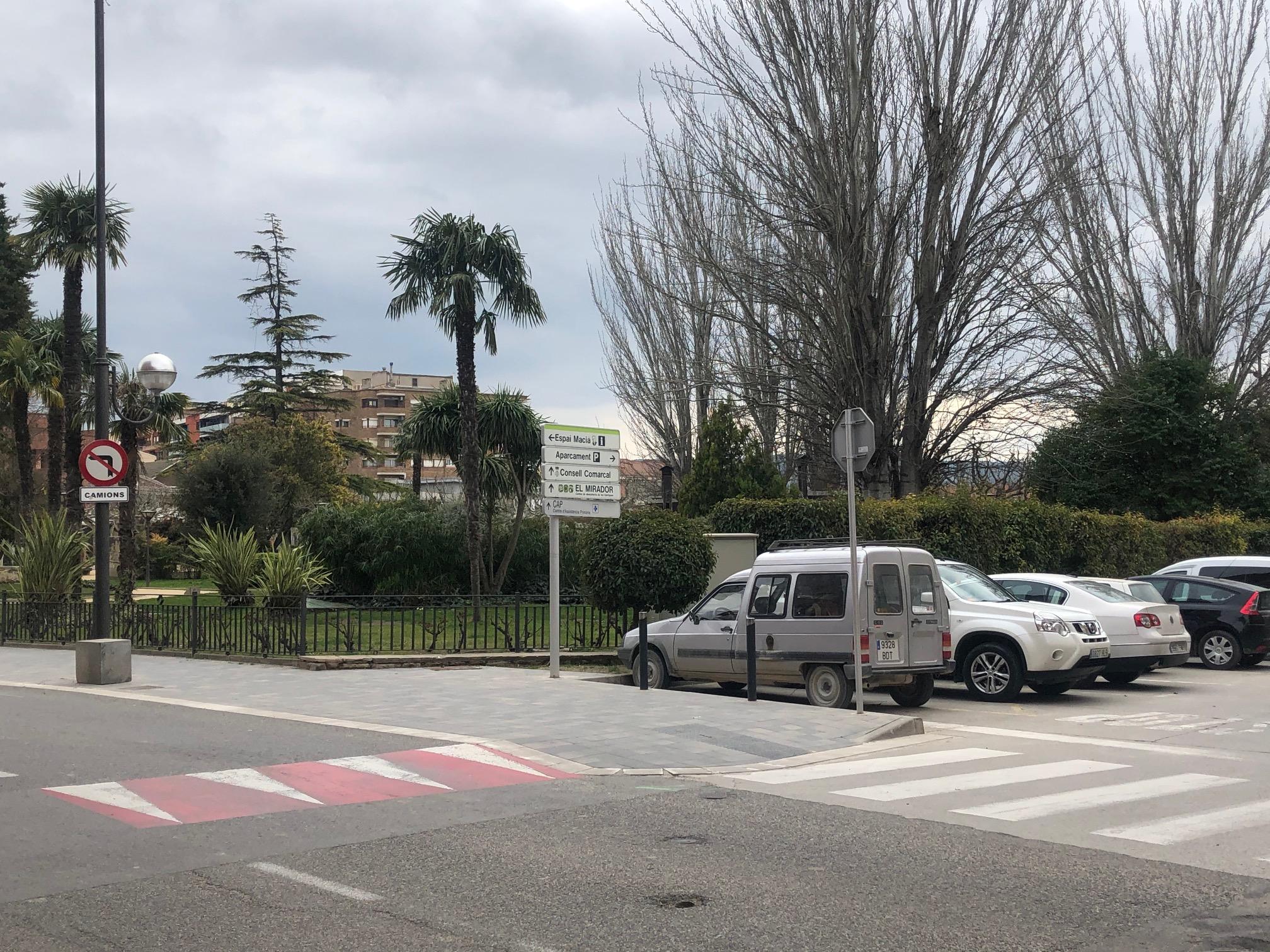 Les Borges instal·larà una estació de recàrrega de vehicles elèctrics al Parc del Terrall