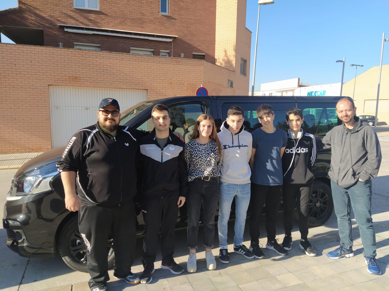 7 jugadors del CTT Borges participen en el Torneig Estatal de Valladolid