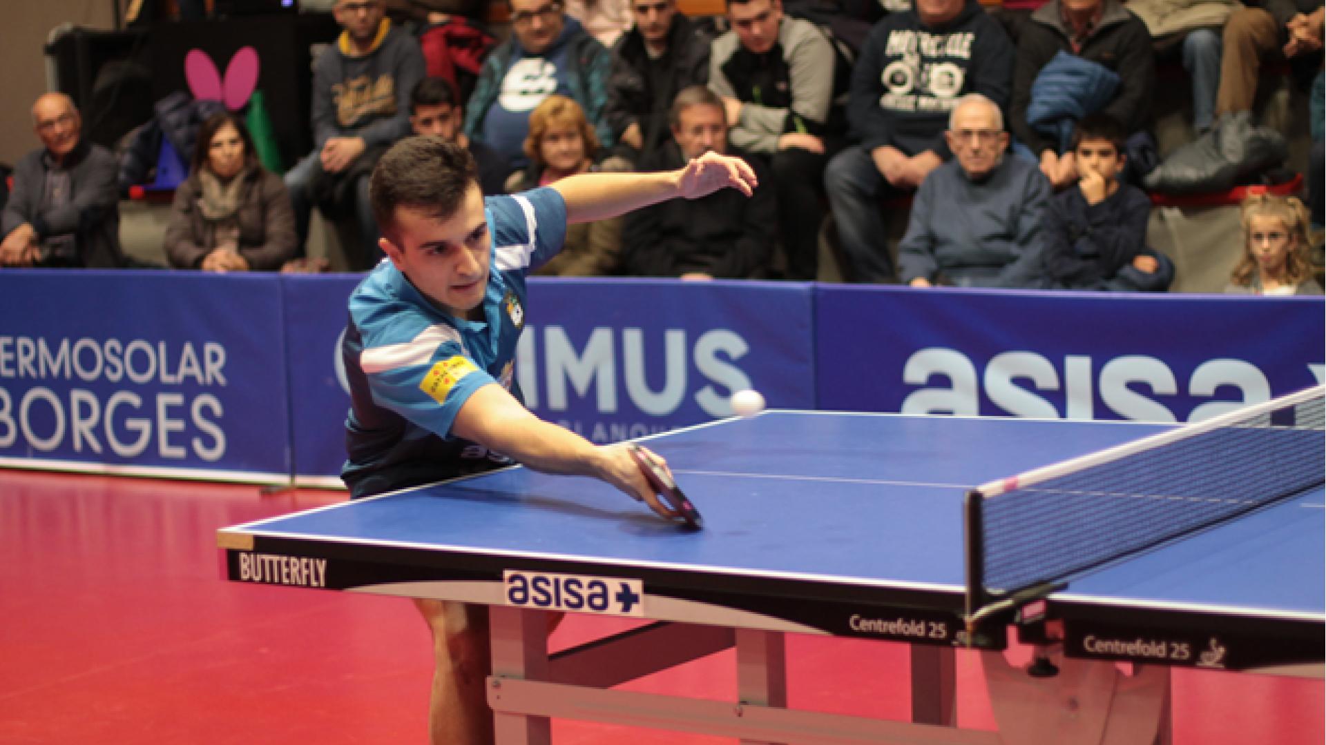 Les Borges acollirà els Campionats de Catalunya Universitaris de tennis taula