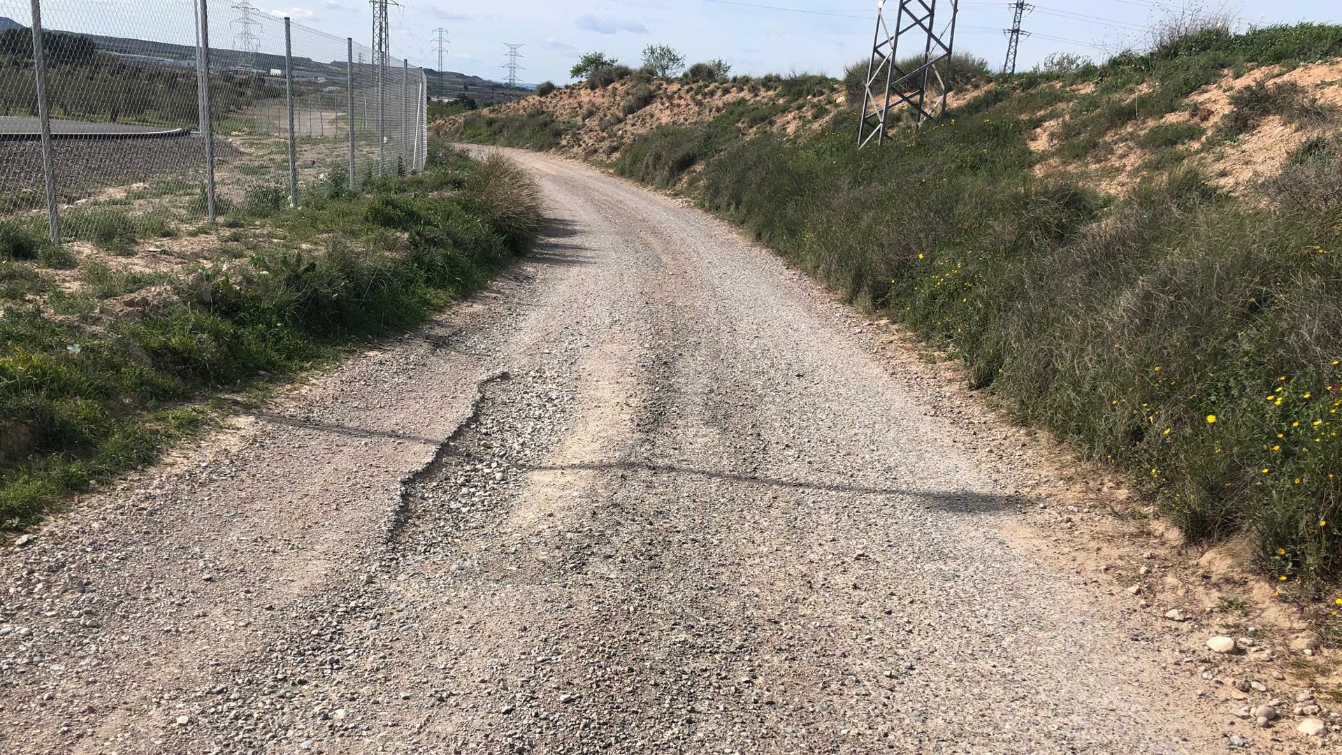 Les Borges Blanques repara camins malmesos pel temporal Glòria