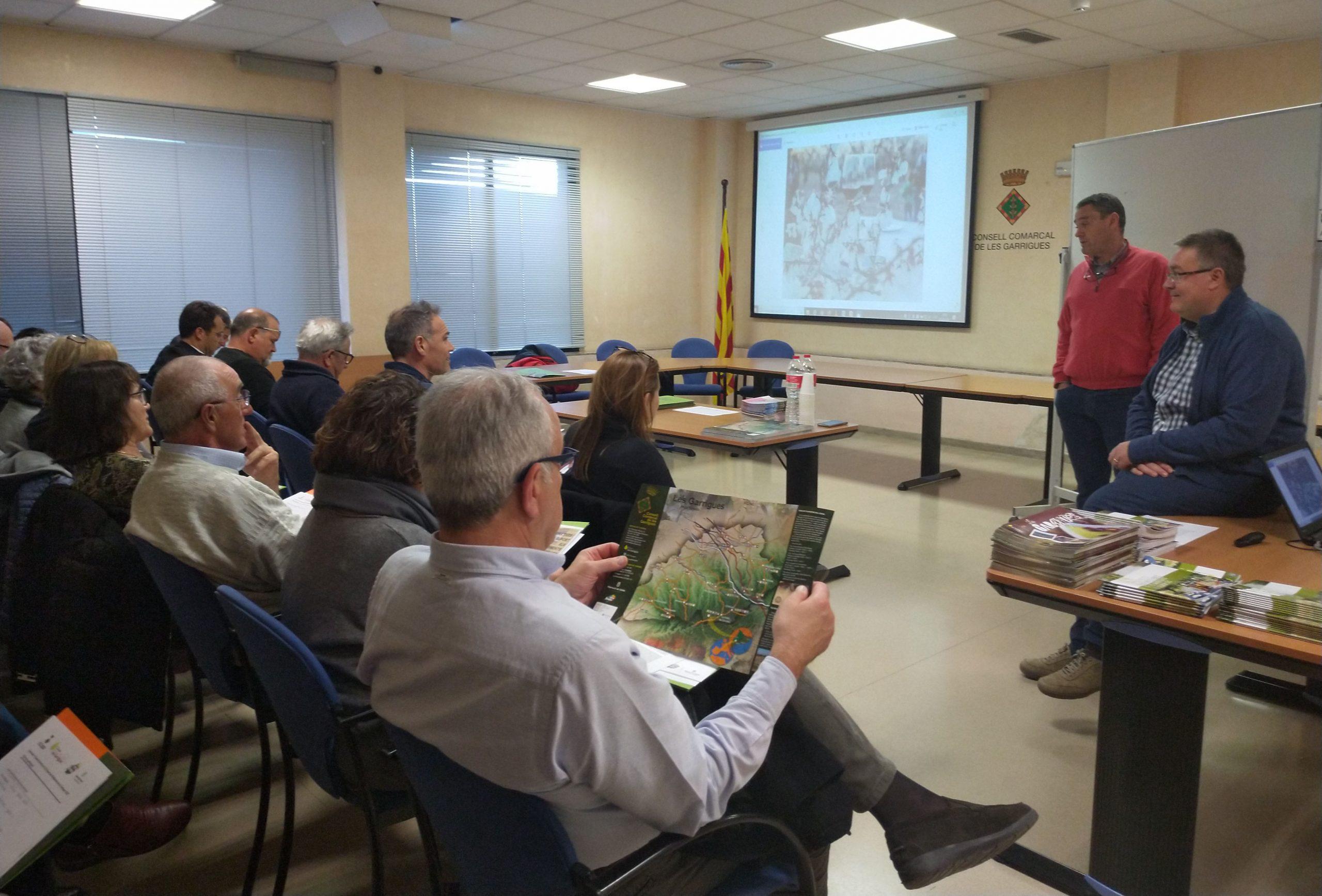 Presentació del curs 'Eines formatives i de suport als allotjaments de les Garrigues'
