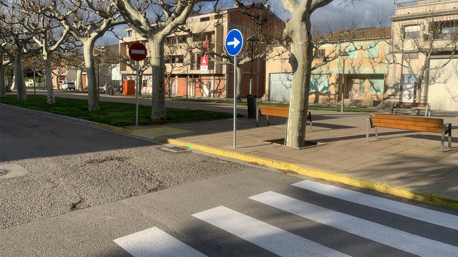 Noves Normes Vials al Passeig Moragues de Castelldans