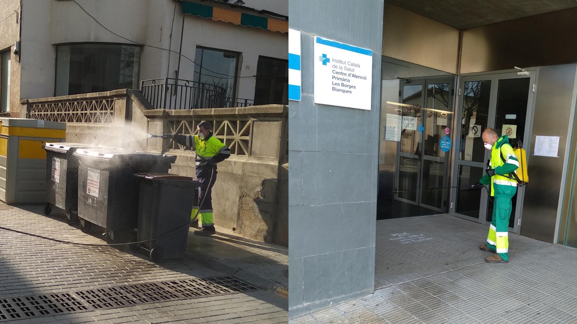 L'Ajuntament de les Borges adquireix 300 mascaretes i 50 bates per a protegir el personal de la residència, el CAP i del consistori