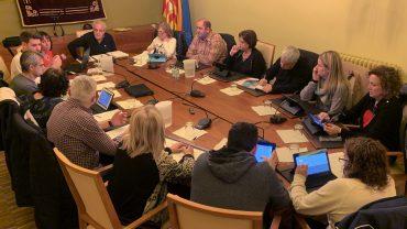 Un ple recent de l'Ajuntament de les Borges Blanques