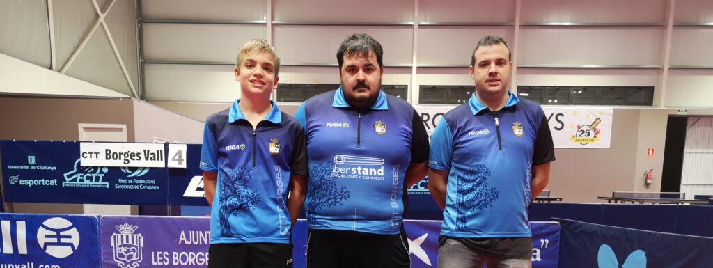 El tercer equip del CTT Borges ascendeix a Primera Nacional