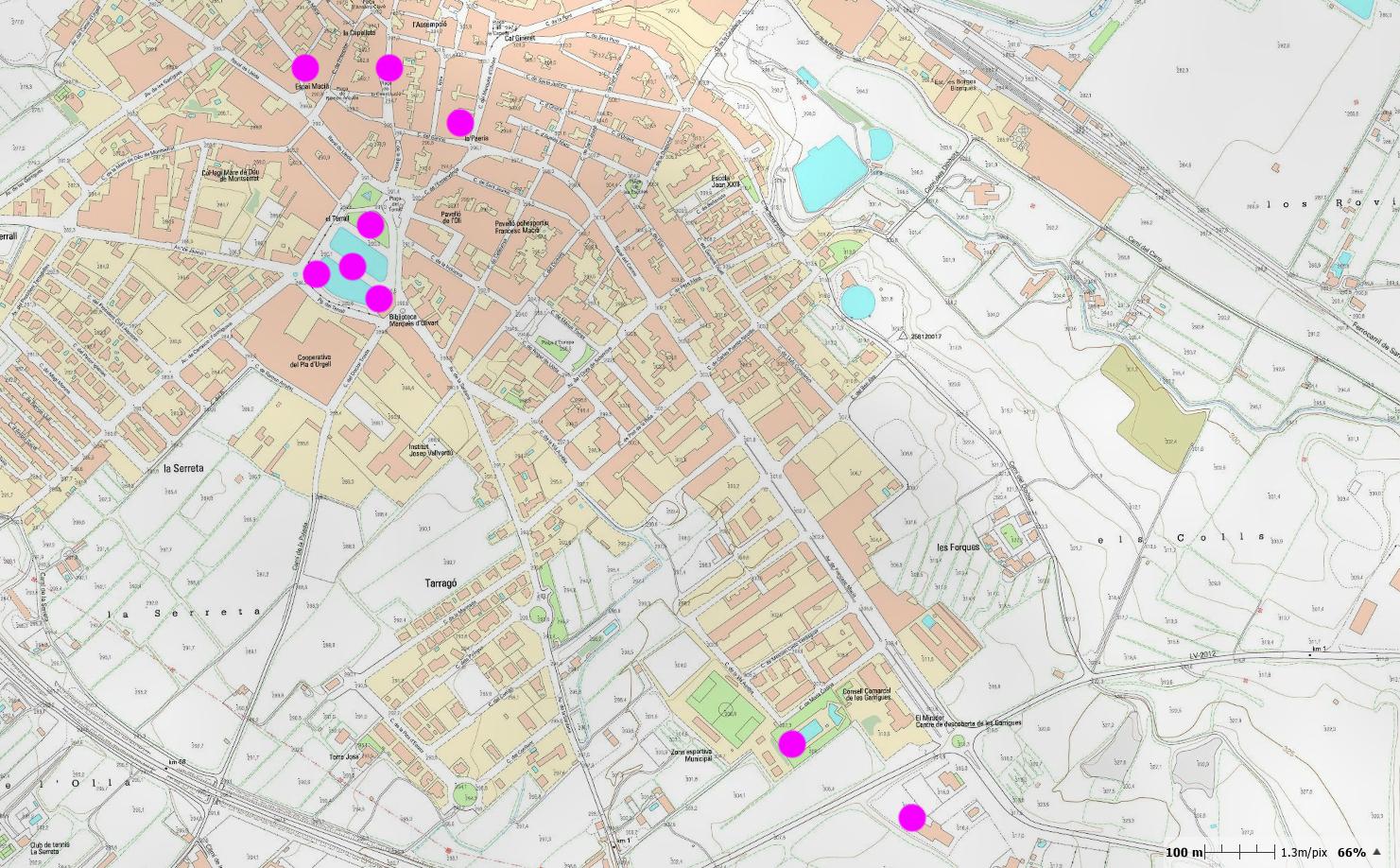 Les Borges inicia les proves del nou servei de connexió a internet gratuïta en espais oberts del municipi