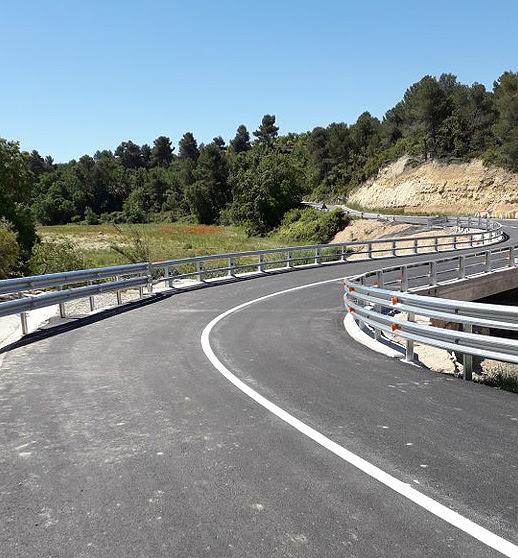 Finalitza la reparació dels desperfectes pels aiguats d'octubre a les carreteres de les Garrigues
