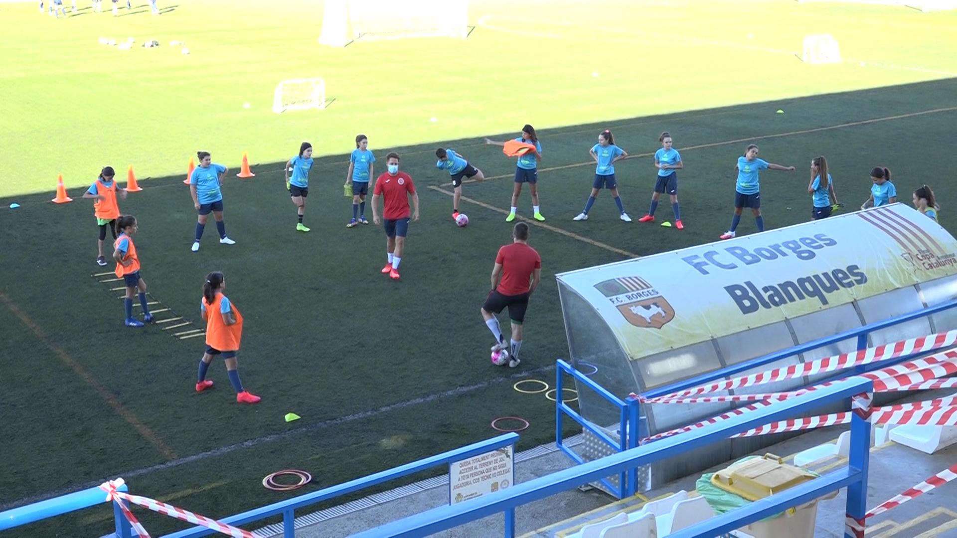 L'Escola Comarcal de Futbol les Garrigues comença  els entrenaments